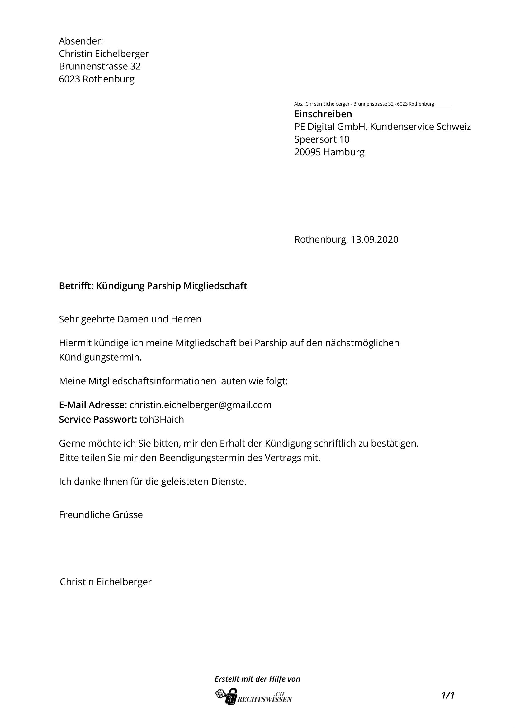 partnervermittlung vertrag muster)